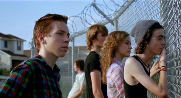 Una scena dal film Suburbs di Spike Jonze basato sul disco degli Arcade Fire