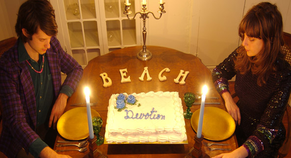 La copertina del disco Devotion dei Beach House