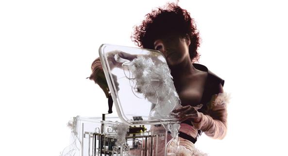 Bjork e la copertina del dvd del suo live alla Royal Albert Hall