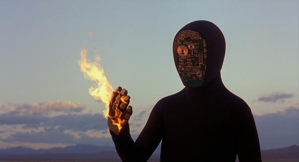 Una scena di Elctroma, dei Daft Punk