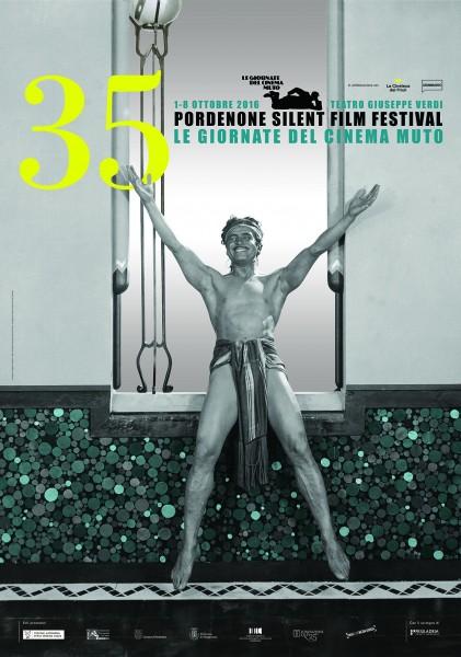 Poster dell'edizione 2016 Giornate del Cinema Muto