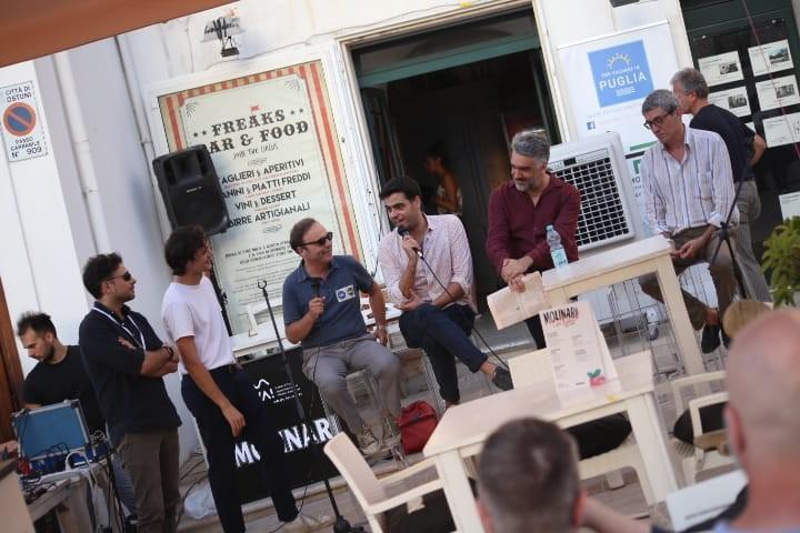Michele Casella, Carlo Pastore, Alfonso Lanza Garcia, Sergio Ricciardone e Cesare Veronico al VIVA! (credits Giuseppe Procino)