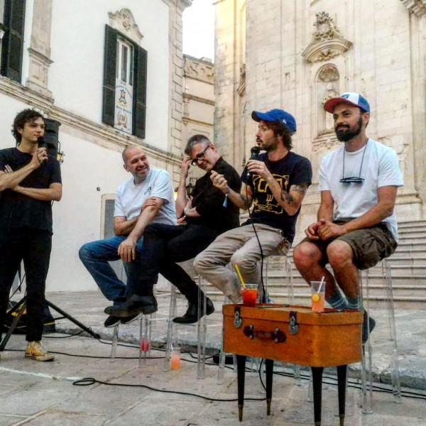 Pastore, Sacchi, Valletta, De Luca, Quarna al VIVA! (credits Giuseppe Procino)