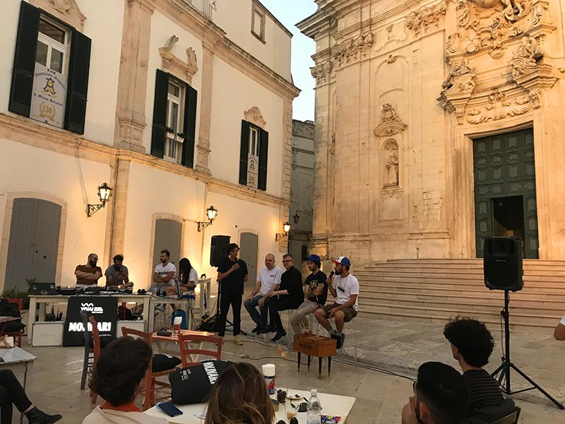 Pastore, Sacchi, Valletta, De Luca, Quarna al VIVA! (credits Simonetta Salinari)