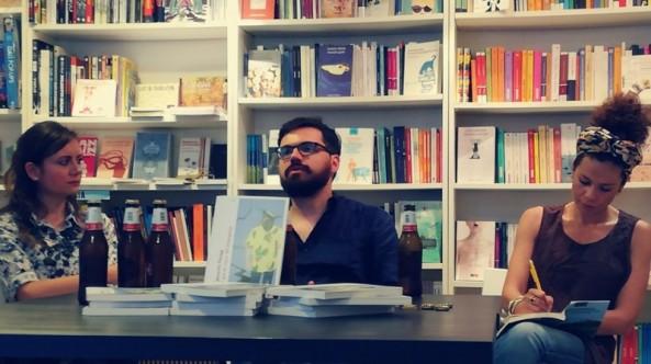 Presentazione del libro a Bari, libreria Zaum